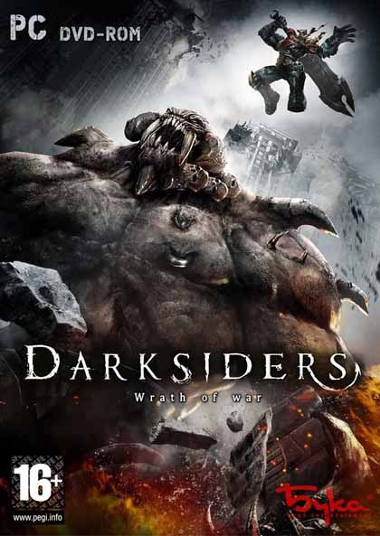 Image result for Darksiders Wrath Of War cover pc